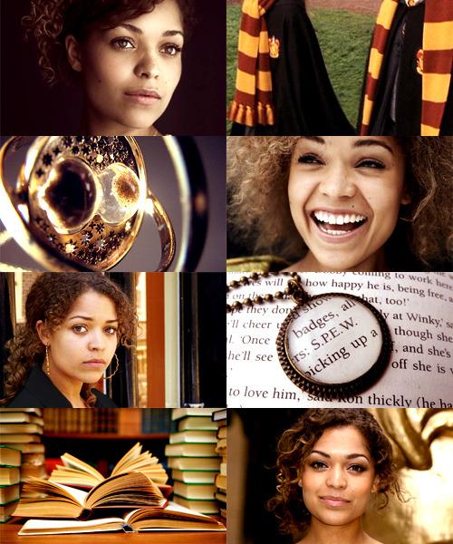 Harry Potter Fancast Antonia Thomas As Hermione Granger