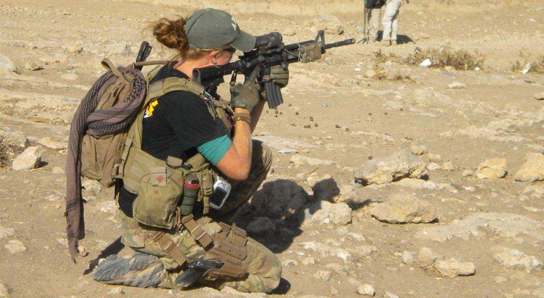 Opératrice rens des forces spéciales, U.S. Army Reserve, Afghanistan, 2012.