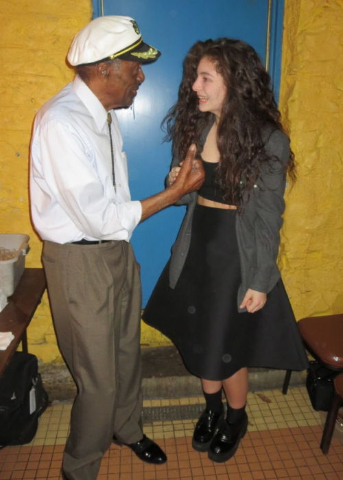 Chuck Berry and Lorde