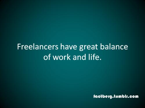 Work life balance of freelancers