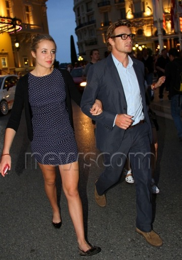 Not exactly — Simon Baker and his daughter Stella