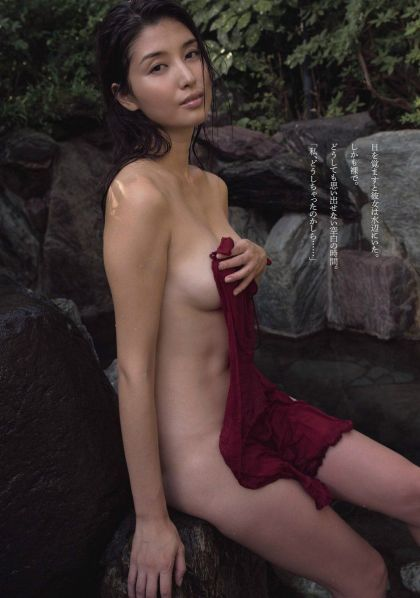 濡れ場画像-橋本マナミ
