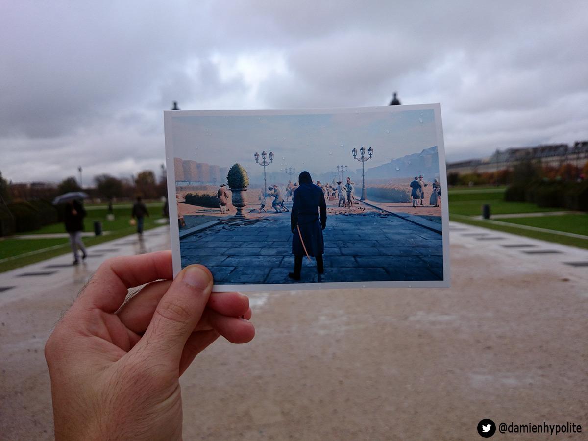 Aujourd'hui j'ai visité Paris 2 fois.Une fois manette à la main, en 1789, à travers les yeux d'Arno Victor Dorian, le héros du nouvel opus de la franchise vidéo ludique Assassin's Creed d'Ubisoft. La deuxième, en vélo (sous la pluie) en confrontant Paris de 2014, au Paris de la Révolution Française reconstitué par les équipes d'Ubisoft. Today I visited Paris 2 times. First with a paddle in my hands, in 1789, trhrough the eyes of Arno Victor Dorian, heroe of the new videogame Assassin's Creed Unity.Then, biking (under the rain), comparing 2014's Paris to the FRench Revolution's Paris recreated by Ubisoft's teams. La suite / More pictures