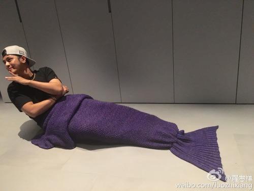 Show Luo as mermaid