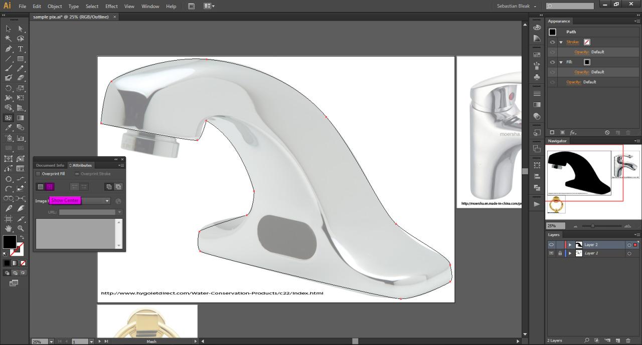 Adobe Illustrator Gradient Mesh