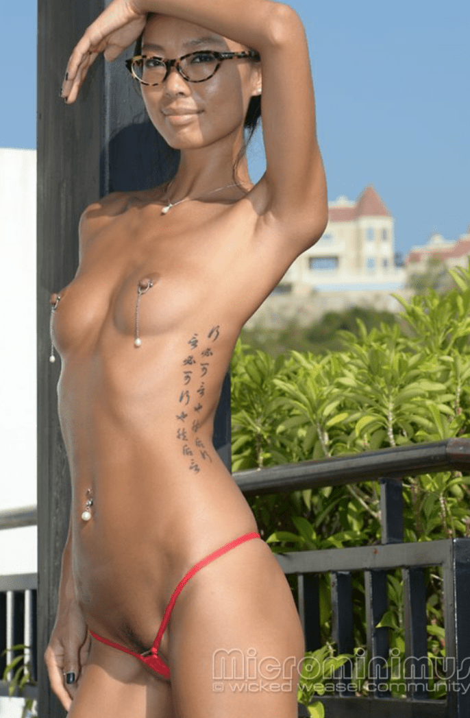 Nude wicked weasel