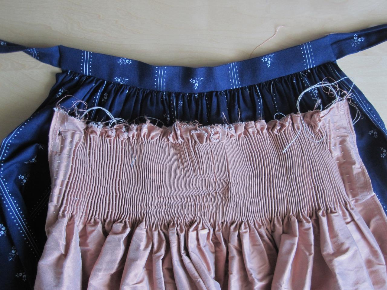 mangia minga // 'sewing a dirndl: aprons'