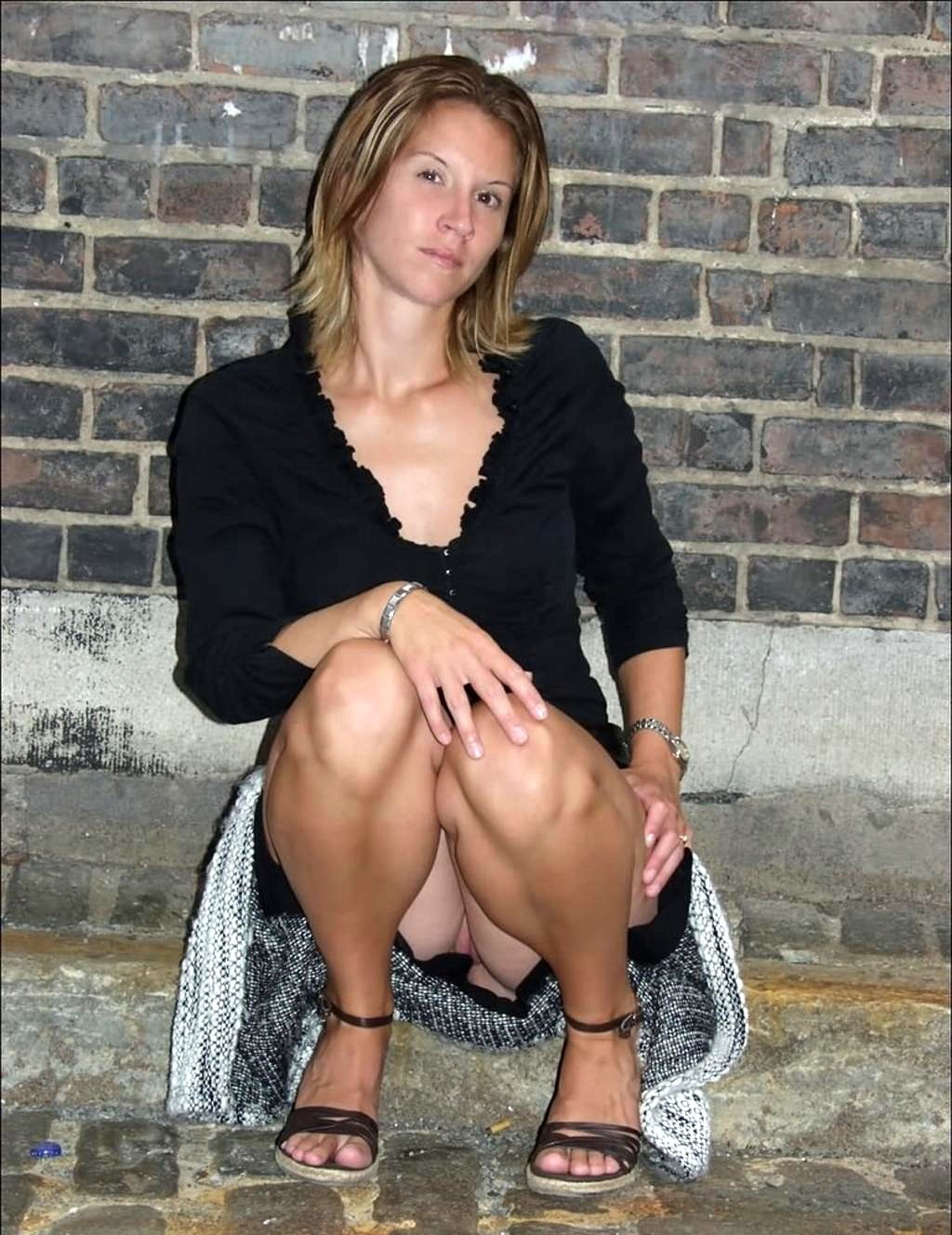 The excellent Milf squatting upskirts accept