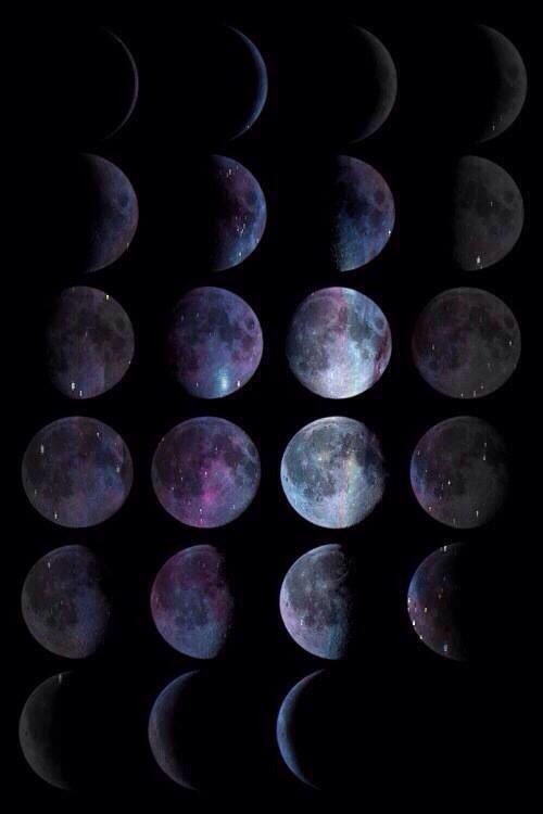 moon phase wallpapers | Tumblr