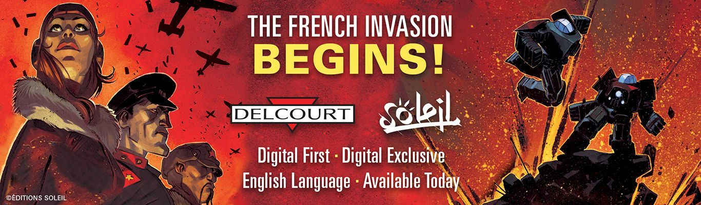 """Delcourt Group Debuts In English On ComiXology Launch Titles Include The Curse of The Wendigoby Walking Dead Artist Charlie Adlard and Writer Mathieu Missoffe & Come Prima by Alfred, the Winner of the Prix du Meilleur Album at the 2014 Angoulême International Comics Festival; More Than 150 Delcourt Group Titles To Be Released Exclusively by ComiXology """"Today marks the beginning of the 'French Invasion' of comics in the English language market."""" - David Steinberger, CEO comiXologyJuly 6th, 2015 – New York, NY/ Paris, France – Delcourt Group, the leading independent comic book publisher in France, took a big step in their global expansion today with the debut of an exclusive line of English language digital-first comics on comiXology, the revolutionary cloud-based digital comics platform. This major publishing program premieres this month with three of the bestselling titles published in France, including The Curse of the Wendigo, which was illustrated by artist Charlie Adlard, best known for his collaboration with Robert Kirkman on The Walking Dead, and Come Prima by Alfred, the graphic novel which won the Prix du Meilleur Album at the 2014 Angoulême International Comics Festival. Announced in advance of San Diego Comic Con 2015, the initiative calls for more than 150 acclaimed Delcourt titles to be published over the next 12 months exclusively through comiXology. """"The French comic market is one of the most diverse in the world, and it's fantastic to be a part of this game-changing deal with Delcourt,"""" said co-founder and CEO of comiXology David Steinberger. """"The English language audience is more diverse than ever and Delcourt's compelling titles will speak to comiXology fans. It's high time that French comics take their rightful place as a major comics category. – today marks the beginning of the 'French Invasion' of comics in the English language market!""""This digital-first exclusive marks the first time that Delcourt will be making its content directly available to"""
