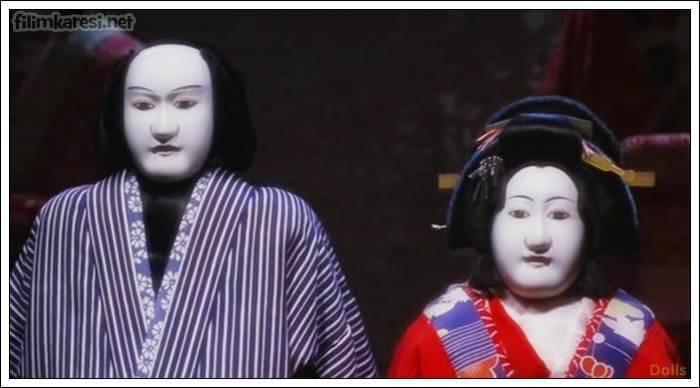 Dolls,Bebekler,Takeshi Kitano,2002,114 Dak.,Japonya,Hidetoshi Nishijima,Miho Kanno ,Tatsuya Mihashi,Chieko Matsubara,Kyoko Fukada, Takeshi Kitano,Kırmızı İp,Aşk Hikayesi,