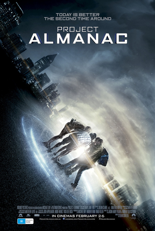 Project AlmanacReviewed By Miranda Boyer<br /><br /><br /> I haven't felt this sick from a movie since the Blair Witch Project. The entire<br /><br /><br /> movie is filmed via found footage film style or as I like to<br /><br /><br /> call it handy-cam. The sad thing was that the acting wasn't bad, the story<br /><br /><br /> wasn't lacking, and I really think it would have been twenty times more<br /><br /><br /> enjoyable had it been filmed in a more traditional way. I regretted buying a<br /><br /><br /> ticket two minutes in. It's been a couple of hours now and my head is still<br /><br /><br /> reeling. I can understand budget limitations, and the advantages that the found footage film style has over a more traditional method<br /><br /><br /> to move the story along. This being said, I know I will never buy or watch this<br /><br /><br /> film again. Which is a little depressing, as I enjoyed the story immensely. The<br /><br /><br /> Director, Dean Israelite, offered a fresh contribution to the time travel<br /><br /><br /> genera in how violent the act of traveling actually is. There were nods to<br /><br /><br /> various time travel movies as well. As a science fiction lover myself, I<br /><br /><br /> greatly appreciated this.If you could hopscotch through the last decade what would you do? These<br /><br /><br /> teenagers go to Chicago's Lollapalooza from the previous summer, win the<br /><br /><br /> lottery, and fix their various educational mistakes. All of this seems to be<br /><br /><br /> working well for them until their reality starts to slowly fall apart. As luck<br /><br /><br /> would have it, they caused more destruction then anticipated. Every time the<br /><br /><br /> ringleader tried to fix the problems he would only create more. Their timeline<br /><br /><br /> only growing more and more complicated as the story unravels and falls apart.<br /><br /><br /> This was a fresh twist on genius teenagers who time travel sort of flick. There<br /><br /><br /> were laugh out loud moments and even more then a couple of times I was rooting<br /><br /><br /> for the characters, emotionally investing. Each of them was committed to their<br /><br /><br /> roles. I could appreciate even the subtle relationship growth between the<br /><br /><br /> supporting characters. As for the flaws, supposedly this was<br /><br /><br /> filmed on a 10-year-old camera where it defies logic and technology picking up<br /><br /><br /> conversations at such a large distance; that would clearly require more<br /><br /><br /> equipment. This was one of a couple of plot holes. There were a couple, but as<br /><br /><br /> far as the story goes, I'm still voting that this was well done. In the end,<br /><br /><br /> the filming choices make this movie extremely hard to recommend. Did you<br /><br /><br /> stomach your way through? What were your thought?