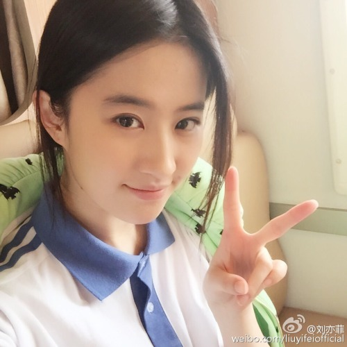Crystal Liu Yifei filming the sequel of So Young