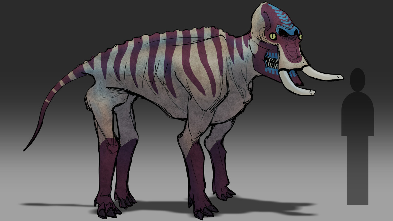 """Shrink-wrapped"" animals: reconstructing modern animals ...  Shrinking Animals"