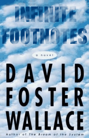 David Foster Wallace:Infinite Jest. Not actually a failure:betterbooktitles.com.
