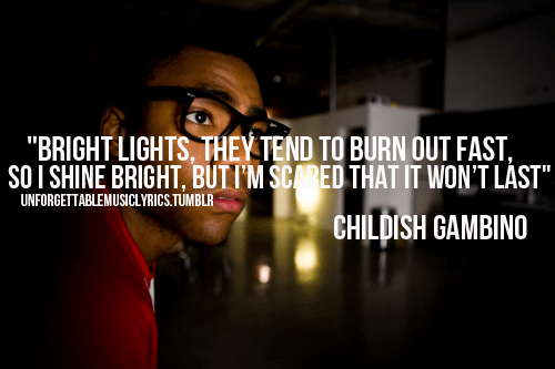 donald glover quote | Tumblr