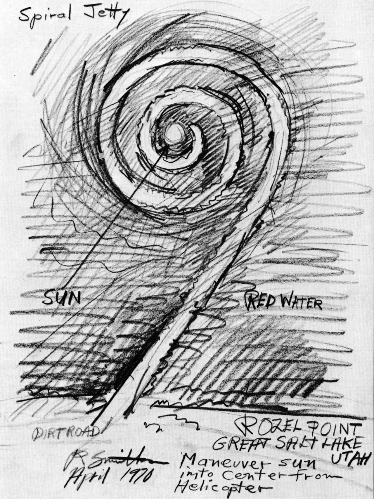 Robert Smithson / Spiral Jetty