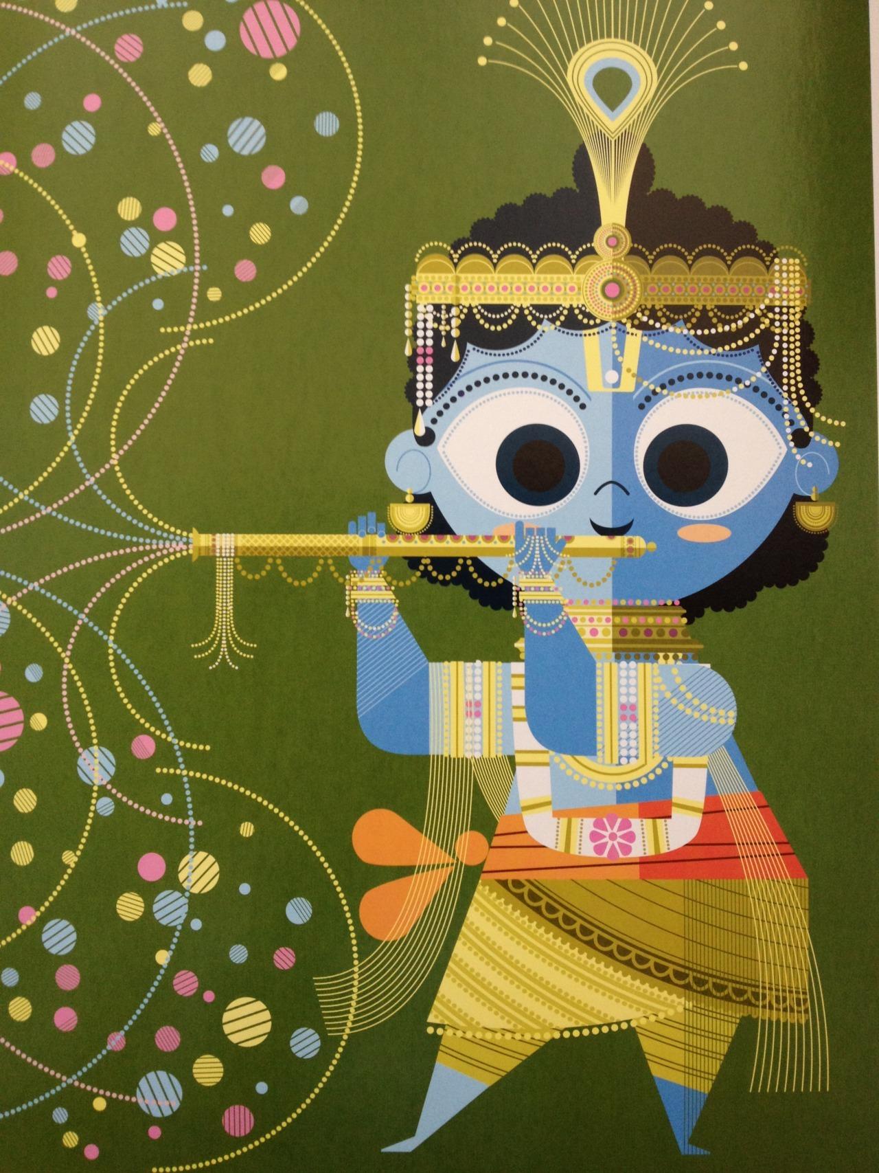 Krishna     ~Sanjay Patel