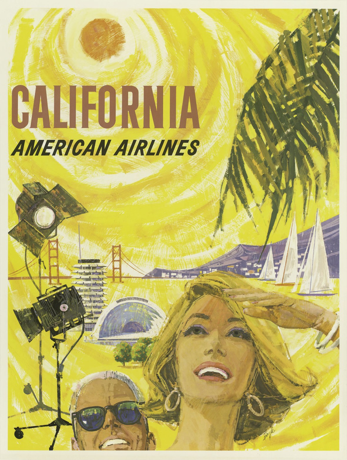 American Airlines 'California' - 1960
