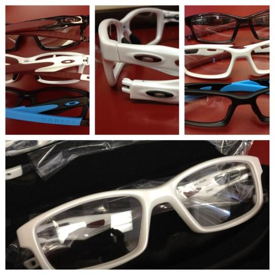 Oakley Crosslink eyeglasses at Ala Moana Eye Center, Honolulu, Hawaii