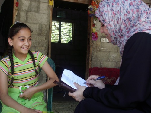 Interpal empowers Shaymaa in Gaza City #DayoftheGirl