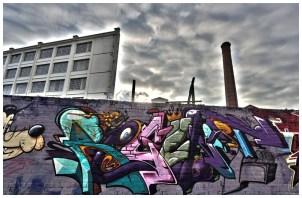 Floodgate street Graff HDR