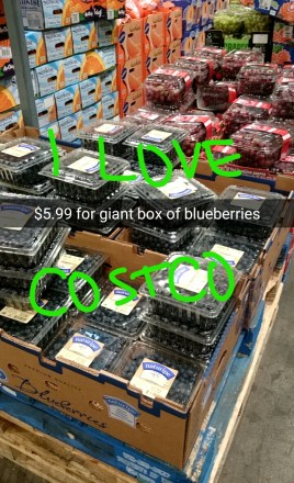#costco #heaven #blueberries #dealsondeals