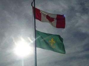 flags at horseshoe