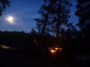 Madawaska River campfire 2010