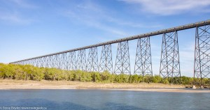 High level bridge Lethbridge