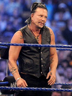 Mickey Rourke At Wrestlemania