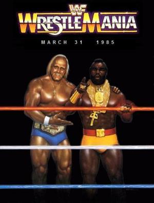 WrestleMania 1 Poster