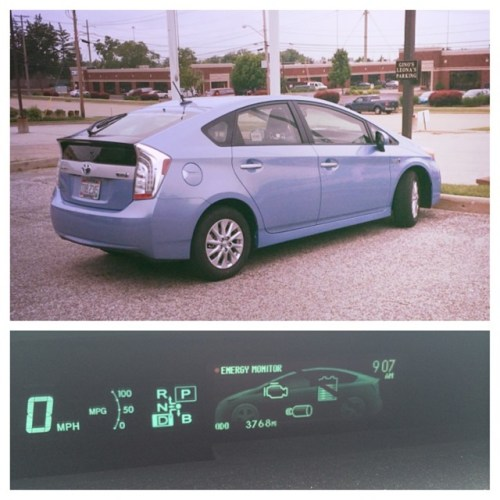 Chewie & His Prius