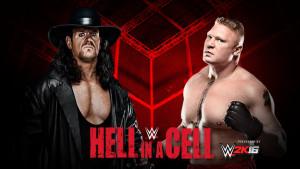 Hell in a Cell - Undertaker v Lesnar
