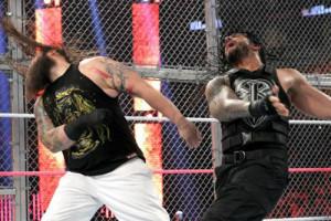 Hell In A Cell 2015 - Wyatt v Reigns