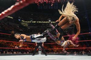 Clash of Champions (2016) - Charlotte vs Bayley vs Sasha