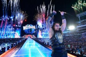WrestleMania 33 - Reigns vs Taker