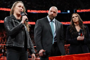 Elimination Chamber 2018 - Ronda Rousey Contract