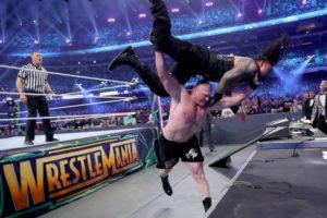 WrestleMania 34 - Brock vs Roman