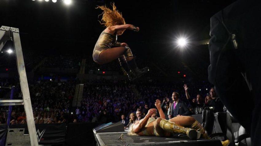 WWE Evolution (2018) - Becky Lynch vs. Charlotte Flair