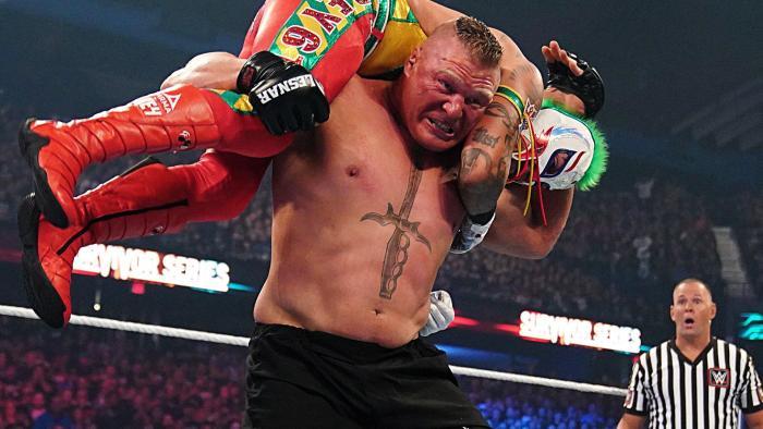 Brock Lesnar vs Rey Mysterio - Survivor Series 2019