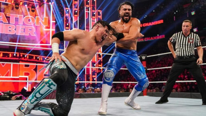 Elimination Chamber (2020) Andrade vs. Carrillo