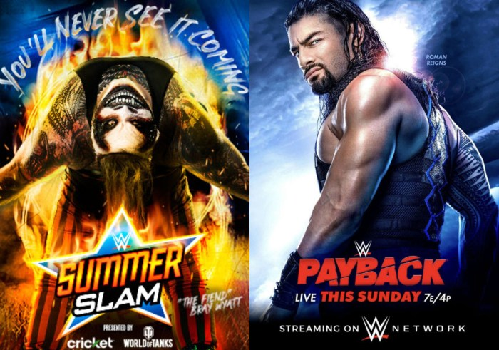 SummerSlam and Payback (2020)