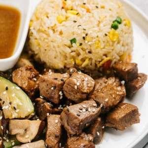hibachi steak 1