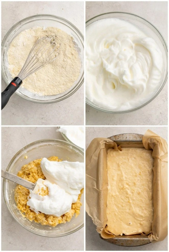 Instructions for paleo bread