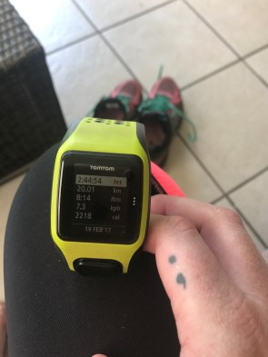 Just another long training run... my story is not over yet!