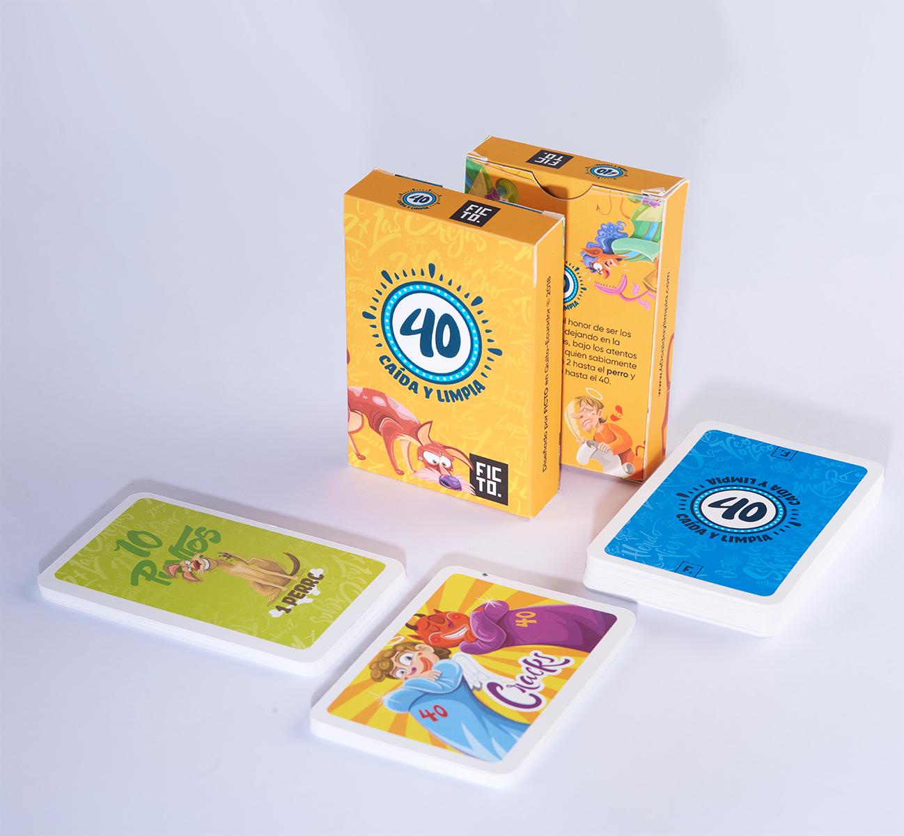 cartas-de-cuarenta-40-caida-y-limpia
