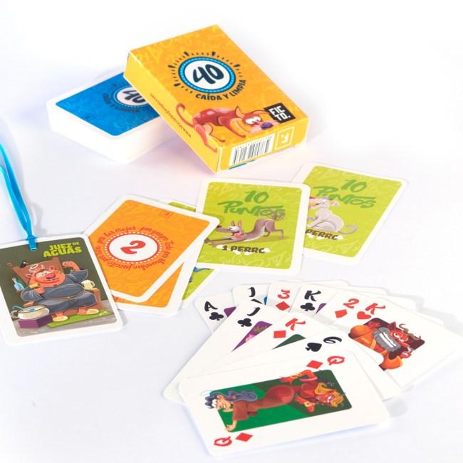 cartas-de-cuarenta-caida-y-limpia