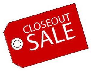 CLOSEOUT INVENTORY
