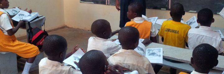 4040 Launches Literacy Program: Merowa Junior School, Kikubamutwe